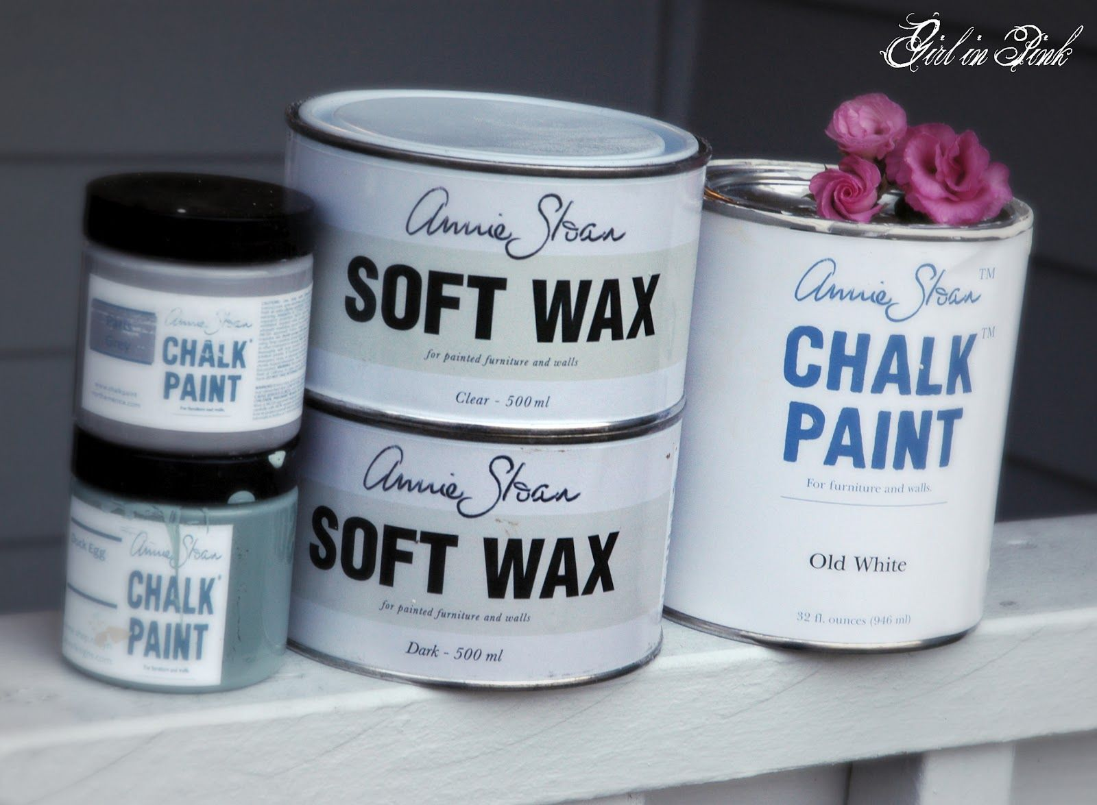 Girl In Pink Ten Projects One Can Of Chalk Paint Chalk Paint Paint Furniture Chalk