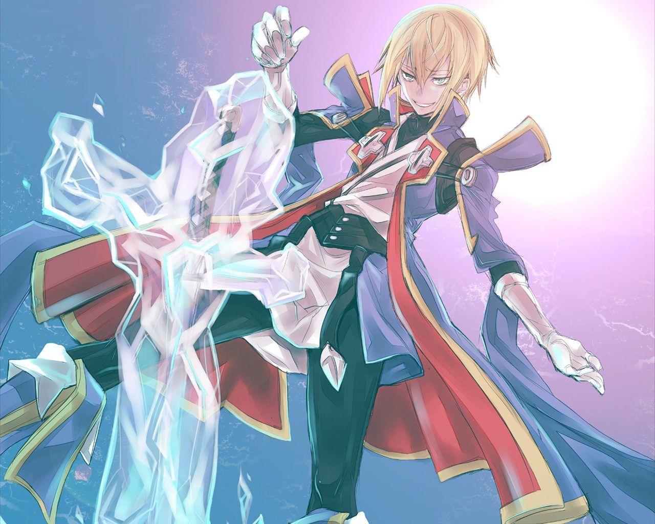 Blazblue Anime Personagens