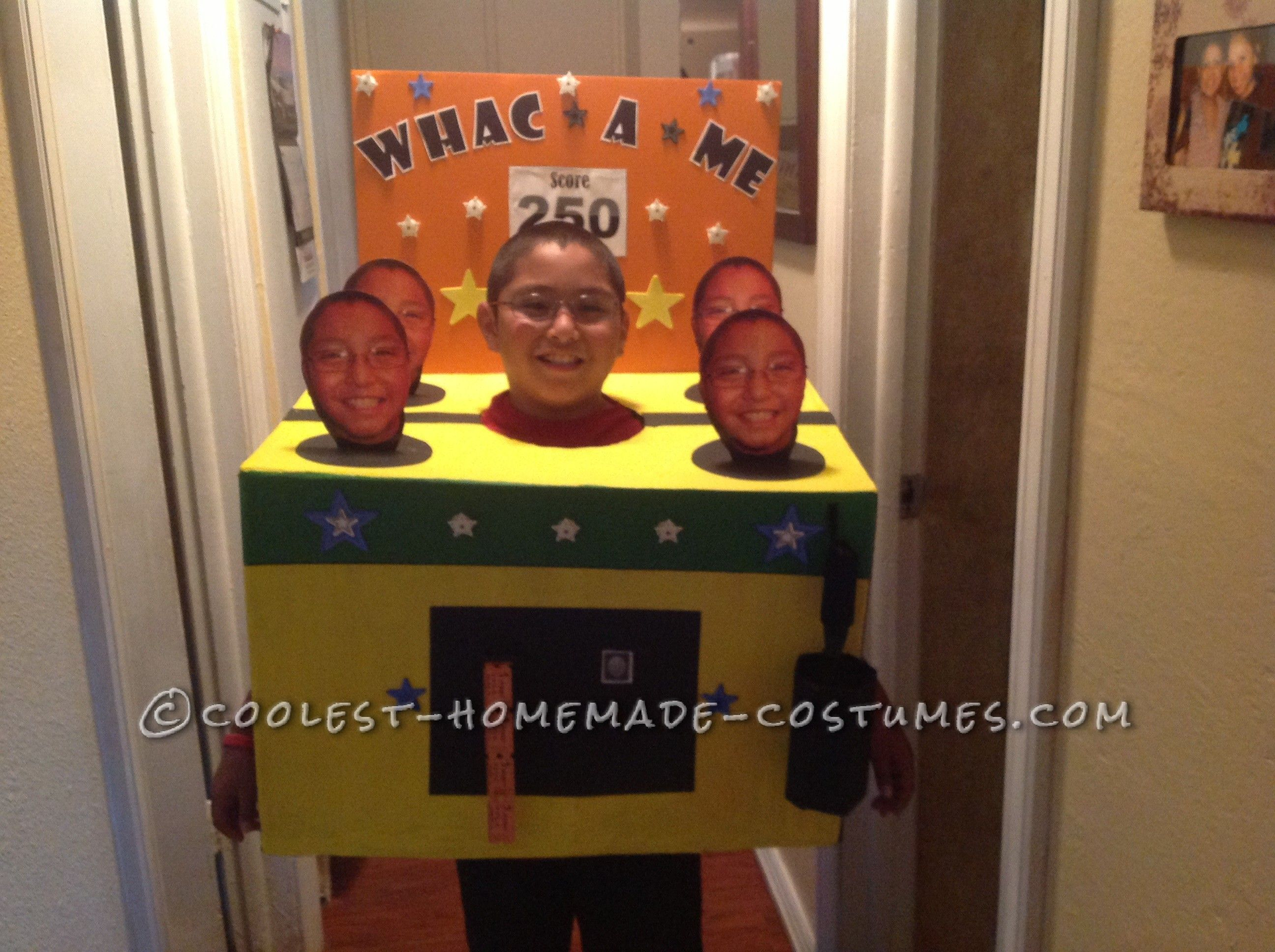 original diy costume idea whac a me arcade game - Original Ideas For Halloween
