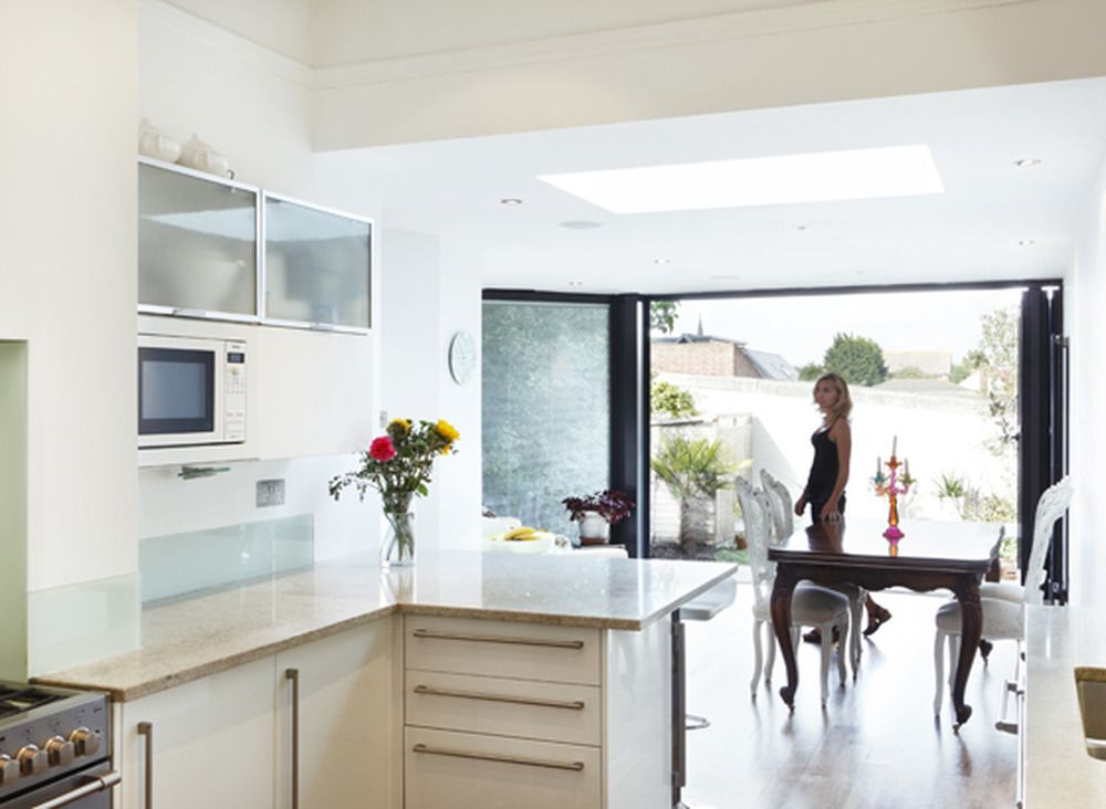 Architectural Designer Extension Builder In Sutton Idea For Knock Through Between Dining Room And
