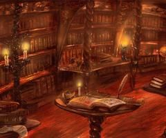 The dwelling of an ancient librarian, wielder of long-kept secrets...