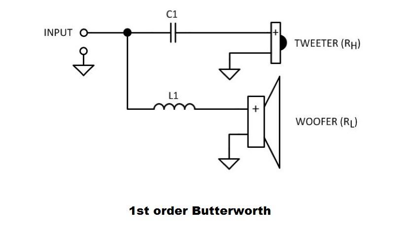 passive crossover schematic