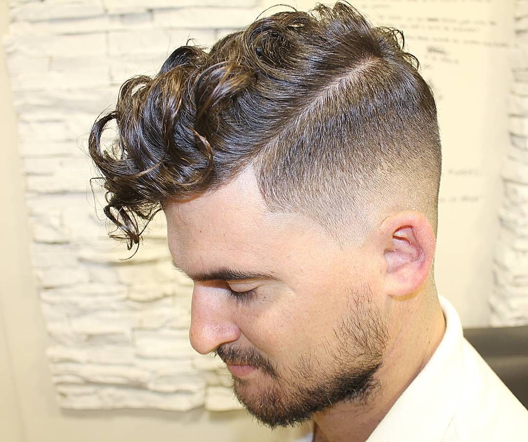 2016 / 2015 | Faded hair, Curly hair fade, Men's curly hairstyles