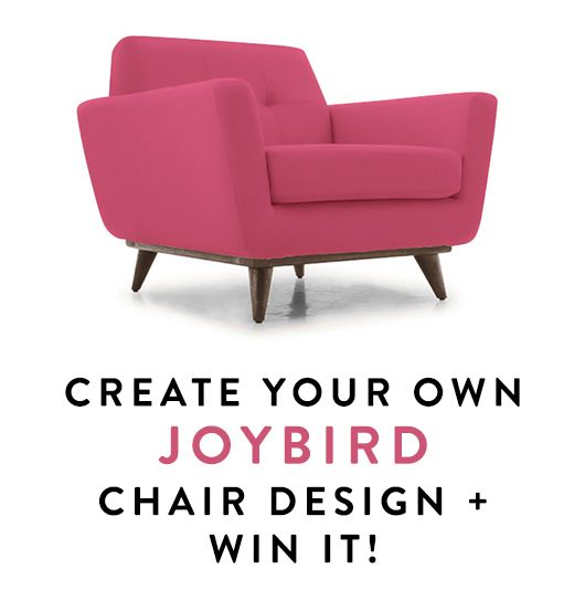 Design Your Own Exterior: Win A Joybird Chair Of Your Own Design.