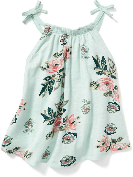Toddler Girl Size 2 2T Baby Gap Floral Print Bow Strap Dress /& Bloomers