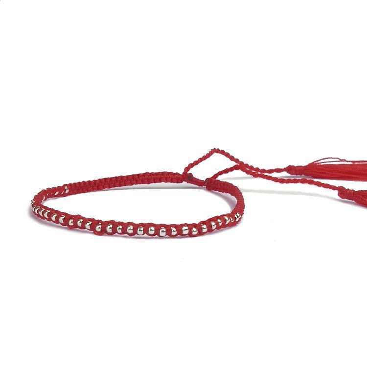 Friendship Bracelet Beads Pure Handmade Multicolor Bracelet Weaving Knotted Bohemian Bracelets
