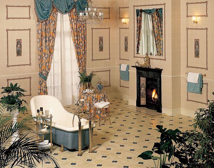 Modernes Badezimmerdesign Art Nouveau Badezimmer Modern bathroom