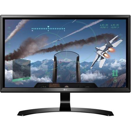 """LG 24UD58-B 24"""", Черный, HDMI  — 22190 руб. —  Разрешение экрана 3840x2160 пикс., HDMI, Тип матрицы IPS"""