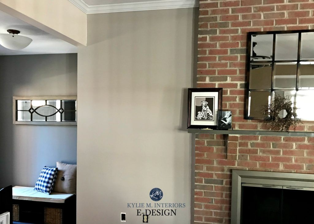 The Best Paint Colours To Update A Brick Fireplace Red Brick Fireplaces Brick Fireplace Wall Gray Painted Walls
