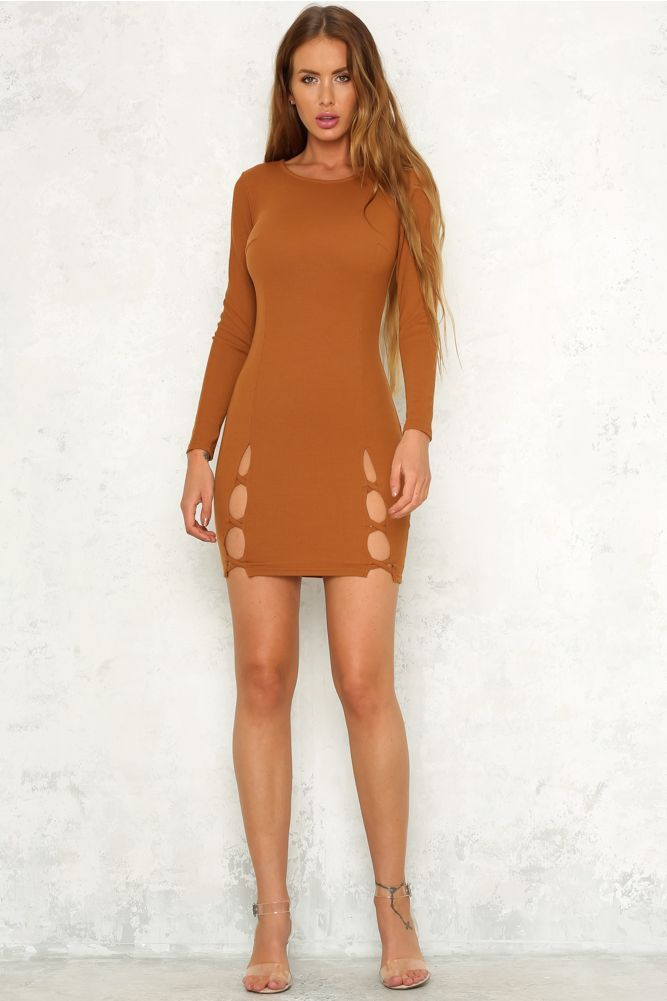 What We Need Dress Caramel