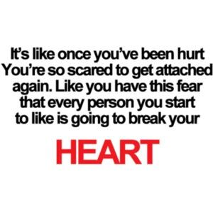 i m scared to fall in love again