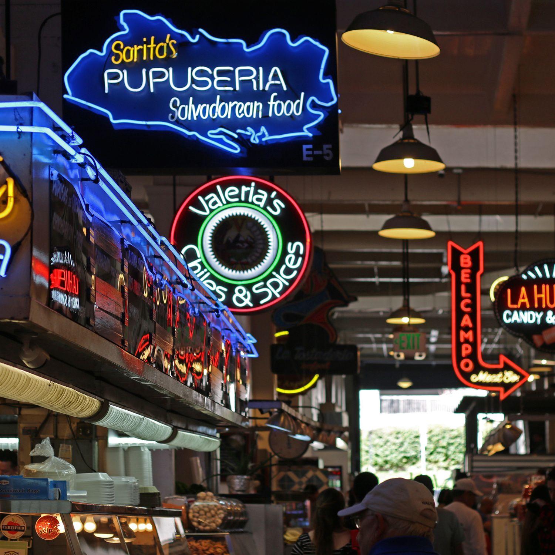 Downtown los angeles food court los angeles food