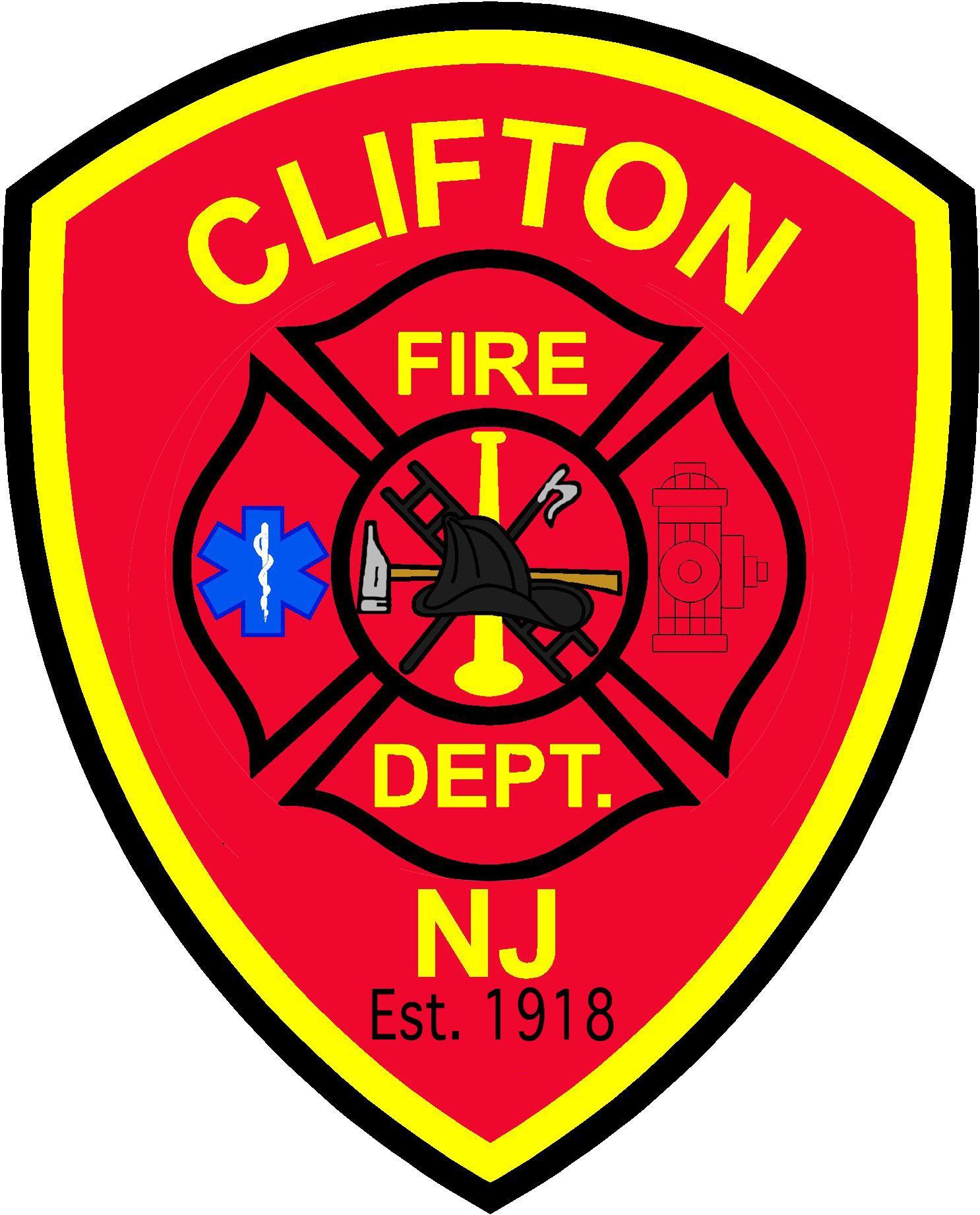 Clifton Fire Department Logo Fire department, Fire dept