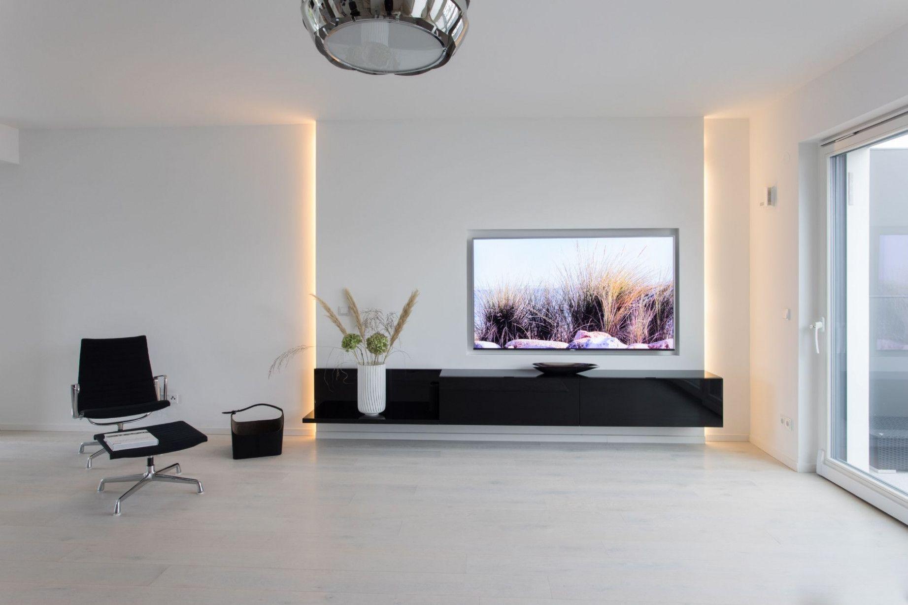 4 Trockenbau Design Wohnzimmer in 4  Wohnzimmer tv wand ideen