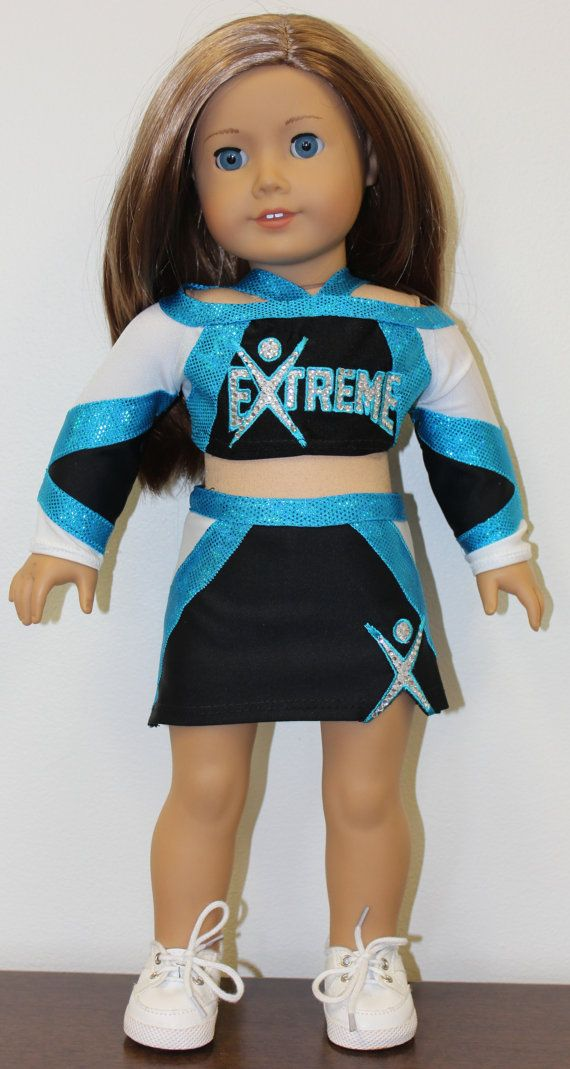 Extreme Cheerleader Uniform for American Girl Doll