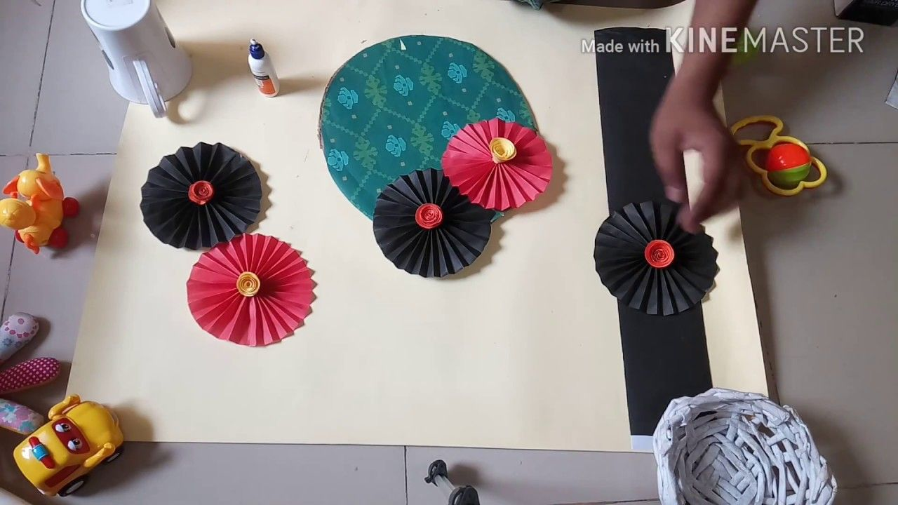 Paper Crafts Ideas For Home Decoration Simple Crafts Paper Crafts Paper Flower Crafts