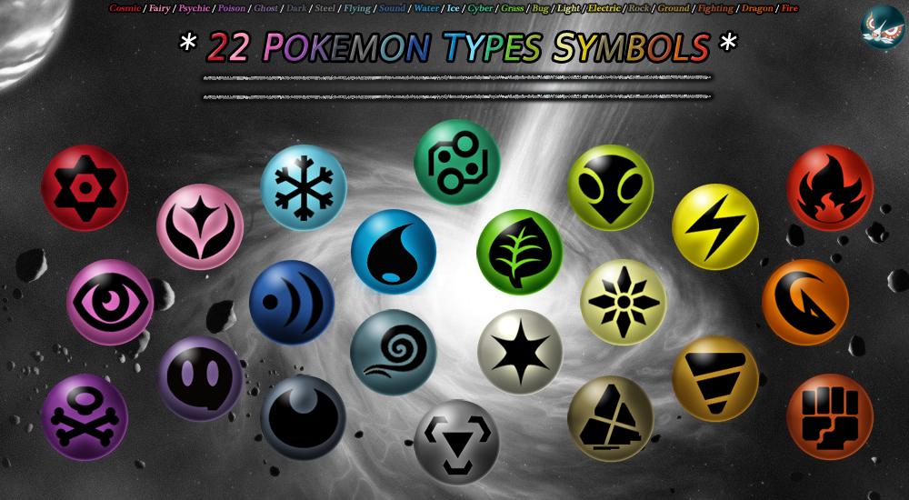 22 Pokemon Type Symbols By Maskadra42 Pokemon