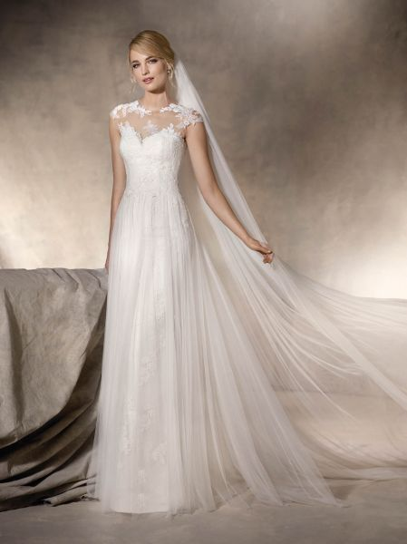 vestidos de novia sencillo ¡20 looks fabulosos!   vestidos de novia