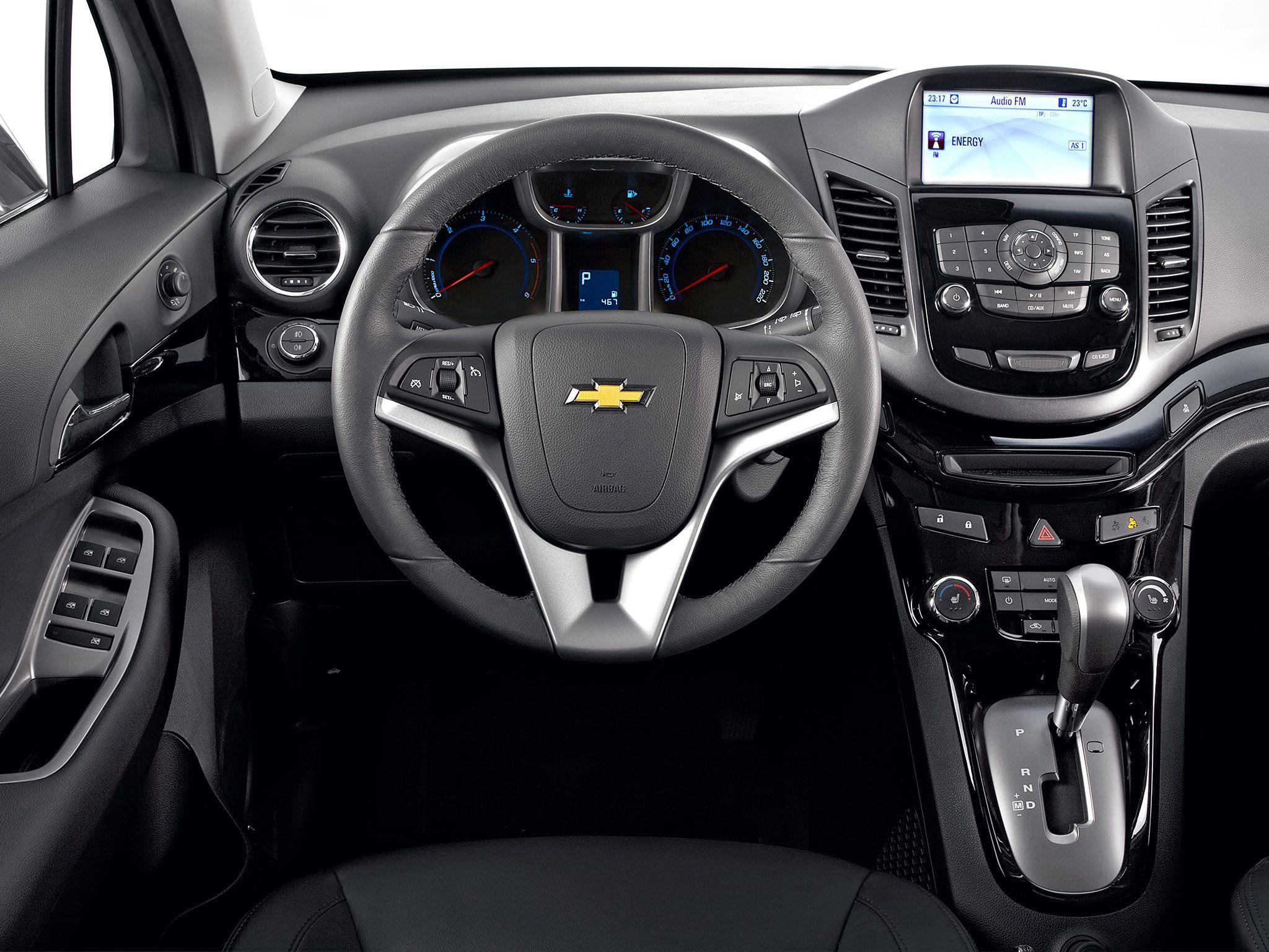 2012 Chevrolet Orlando Mpv Car Interior Dashboard Chevrolet Orlando Chevrolet Latest Cars