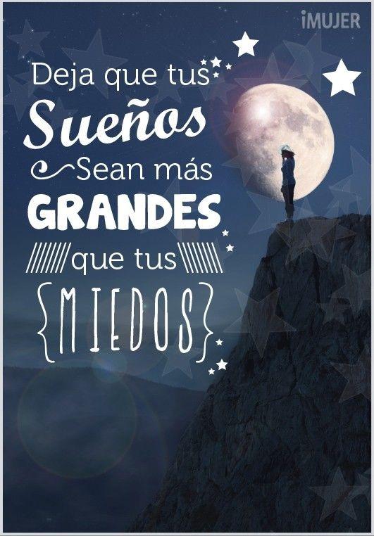 Que Tus Sueños Sean Mas Grandes Buenas Noches Frases
