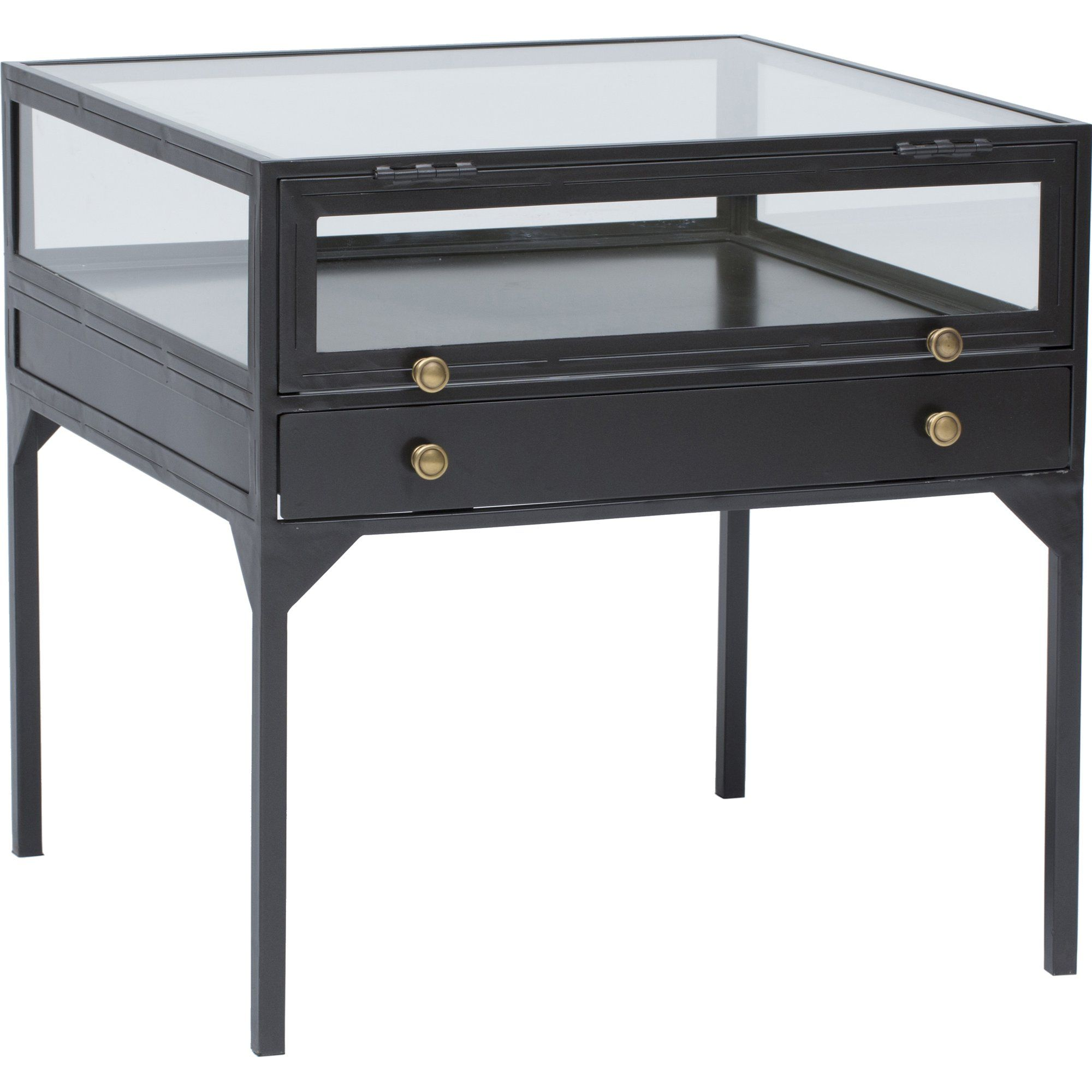 Shadow Box End Table In 2020 Shadow Box Coffee Table Glass Side Tables Modern Wood Coffee Table