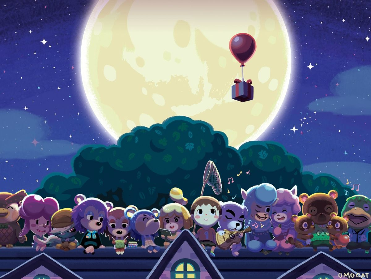 Artwork By Omocat Animal Crossing Animal Crossing