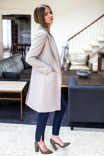 237527d8dc4e Tailored Coat - Fawn Wool | Emerson Fry | WEAR TO WORK: WOMEN in ...