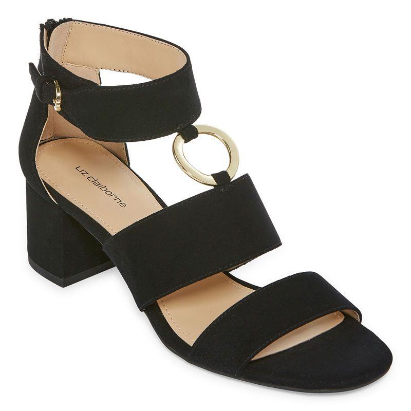 356acec140e Liz Claiborne Sara Womens Heeled Sandals