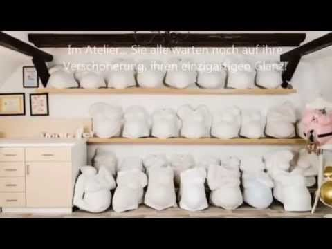 gipsabdruck babybauch bemalen video anleitung youtube. Black Bedroom Furniture Sets. Home Design Ideas