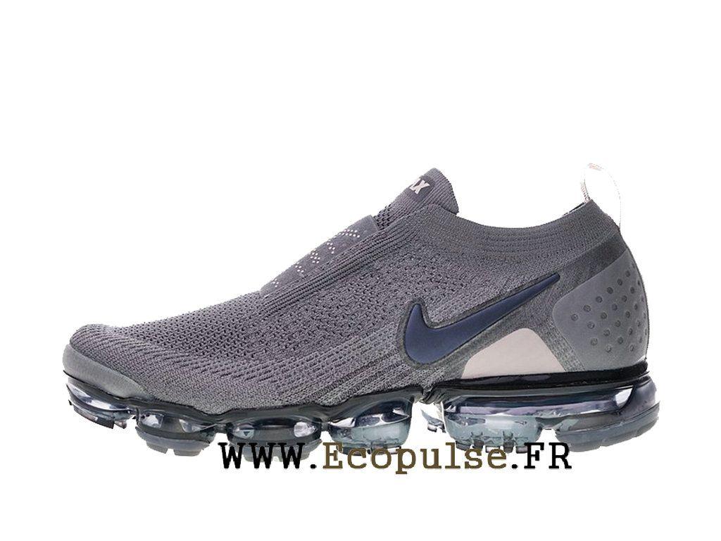 wholesale dealer 51c29 c694c Nike Vapormax Flyknit 2.0 Chaussures Nike 2018 Pas Cher Pour Homme Gris noir  Aj6599-003