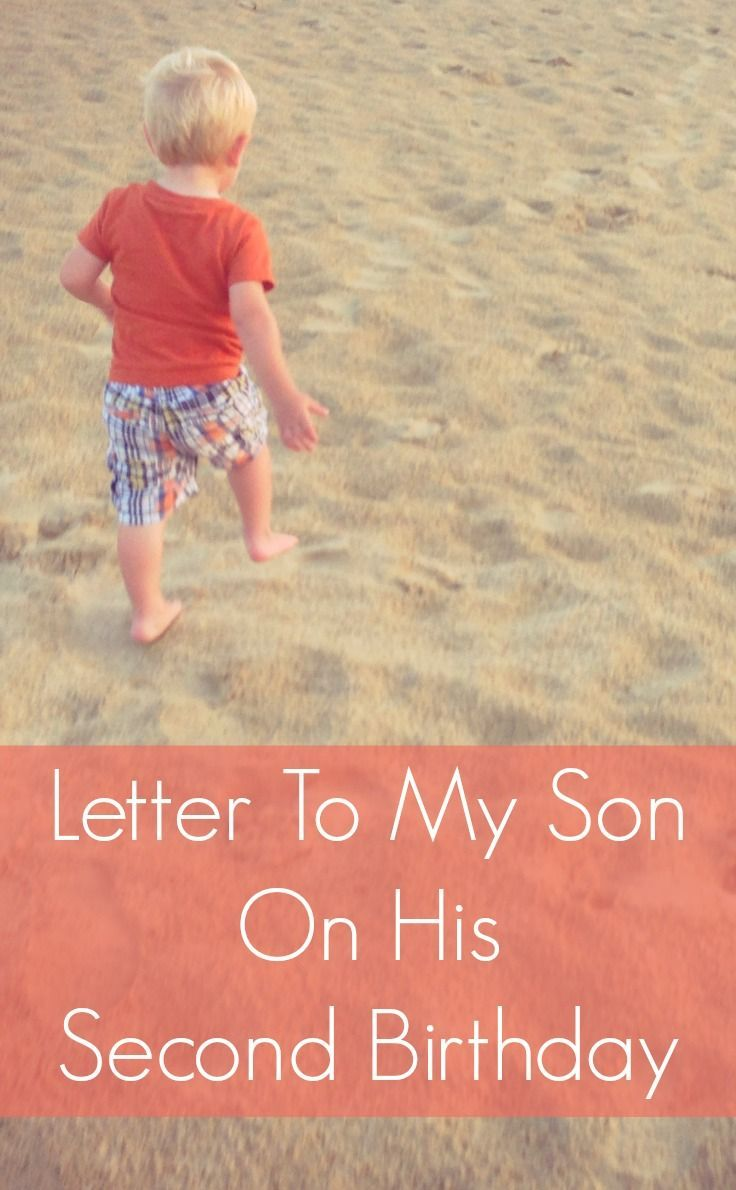 letter to my son on his second birthday | kids and family - mom of