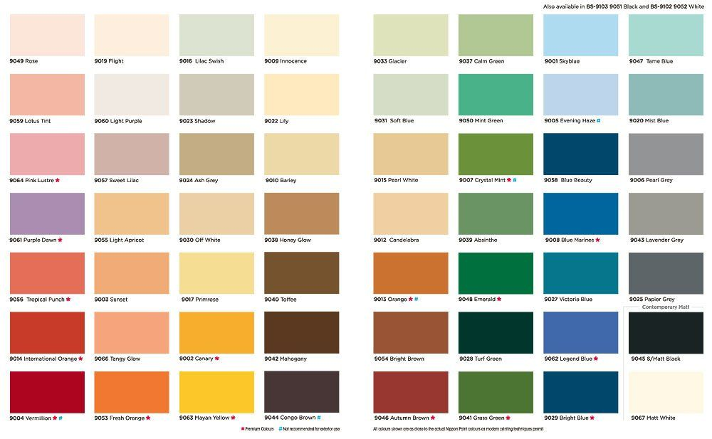 Interior Paint Catalogue Pdf
