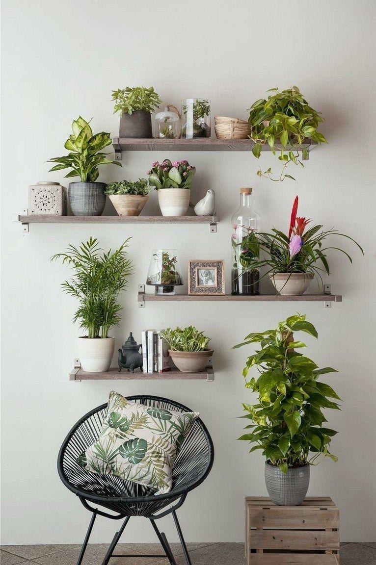 Modern and elegant vertical wall planter pots ideas #verticalgarden #houseplants #walldecor
