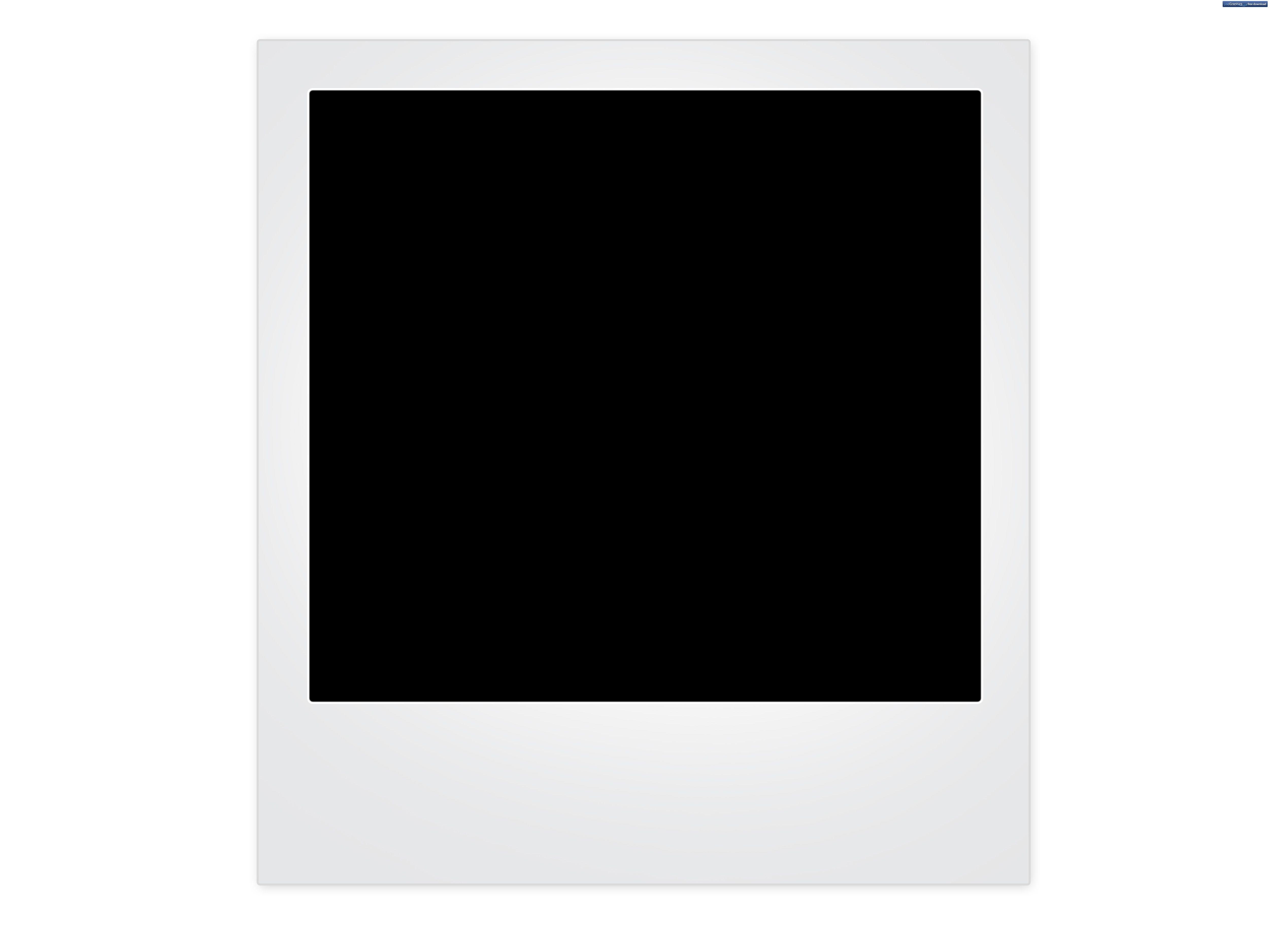 blank-polaroid-frame | Temas de cumpleanos para ninas | Pinterest