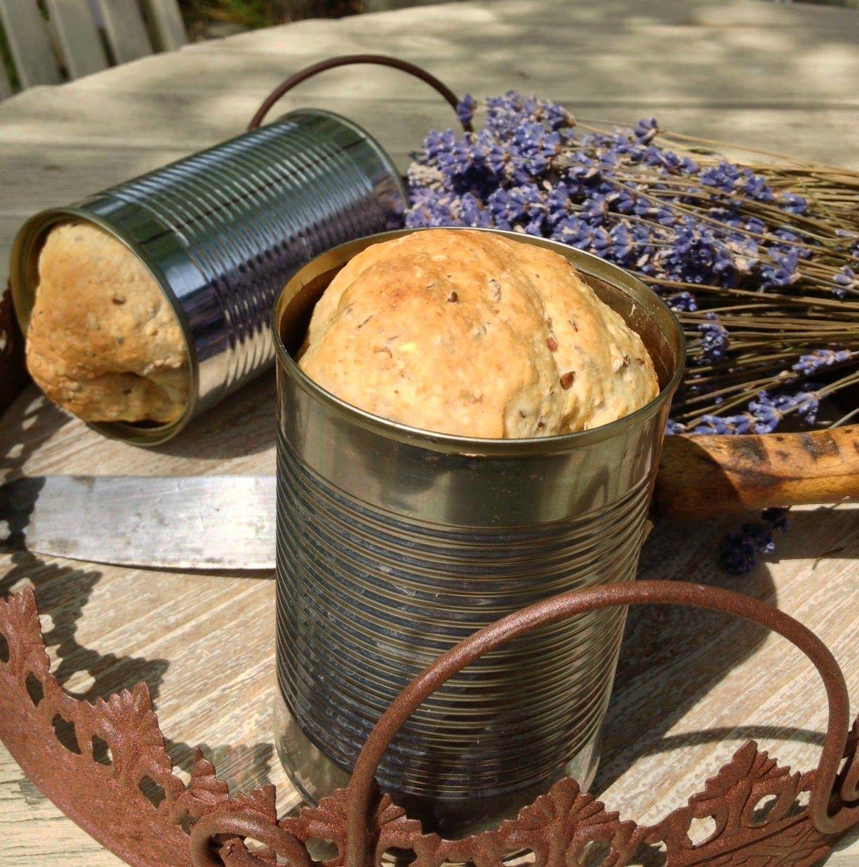 Campfire Tin Can Bread 4serv 1bread Dough Butter Margarine 1