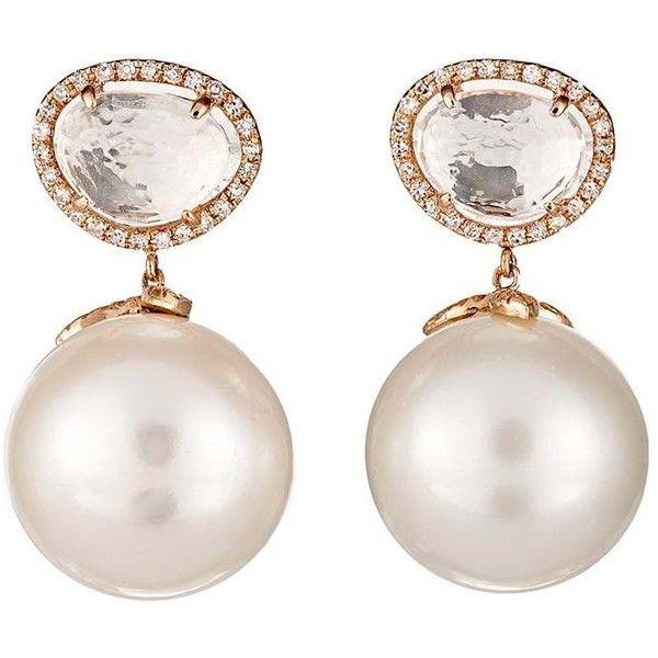Samira 13 Womens Diamond & Pearl Stud Earrings 5fgxz