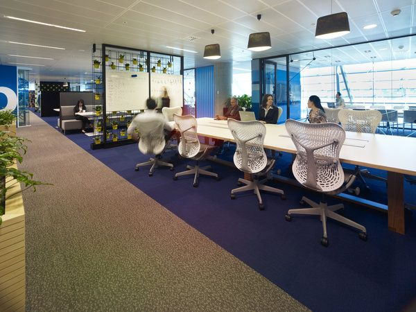 Commonwealth Bank Place, Sydney featuring Herman Miller Mirra chairs http://www.livingedge.com.au/catalog/view.php?itemid=92=productCatalogProductBrand%253D77=77