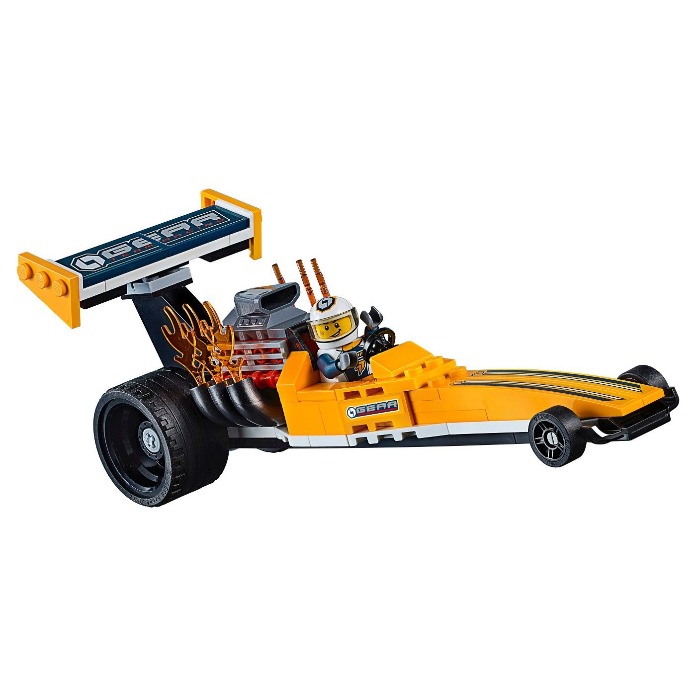 LEGO® City Great Vehicles Dragster Transporter 60151 #Great