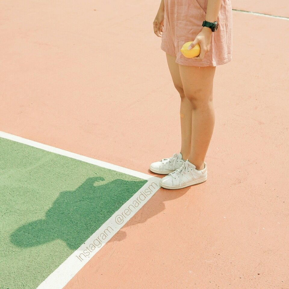 Tennis Photography Minimalist Aesthetic Mood Pastel Instagram Renardism Tennis Photography Minimalist Photography Tennis Court Photoshoot