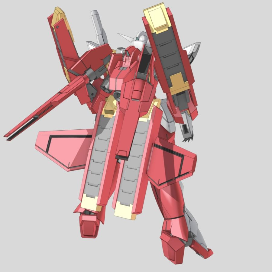 CB-0000G/C/T Reborns Gundam Origin (aka Reborns Gundam Origin, Reborns Origin), is a transformable Innovators Mobile Suit featured in the Mobile Suit Gundam 00V compilation book. The unit is meant to be piloted by Ribbons Almark. Back