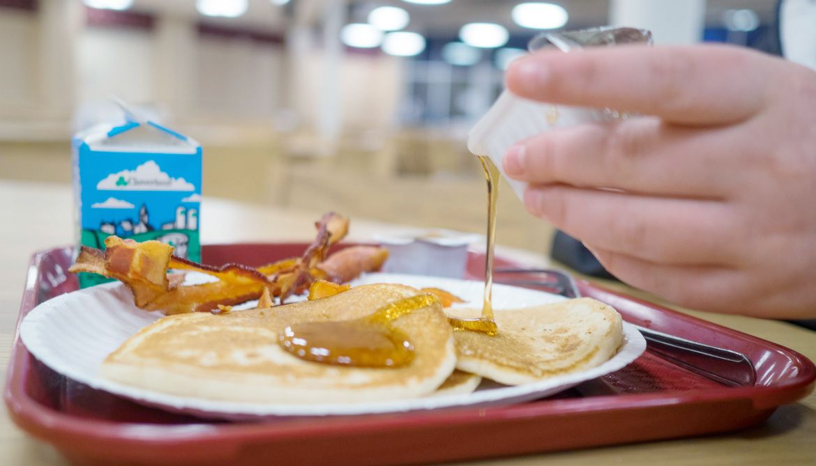 For middle school students, having two breakfasts—one at home and another at school—may ward off obesity better than skipping the meal all together.