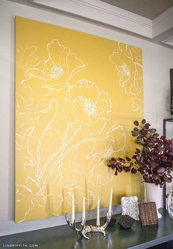 A Tour of Lia Griffith\'s Home: The Dining Room   Simple designs, Art ...