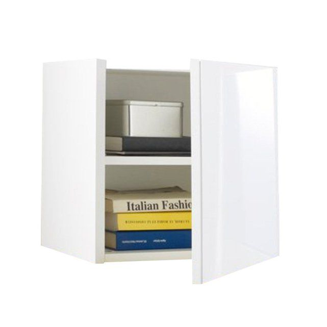 Newark High Gloss Lacquered Wall Storage Cube
