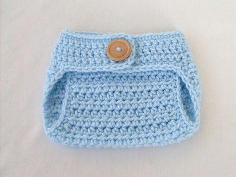 free crochet diaper cover pattern | Ravelry: Baseball BUTTON Trimmed ...