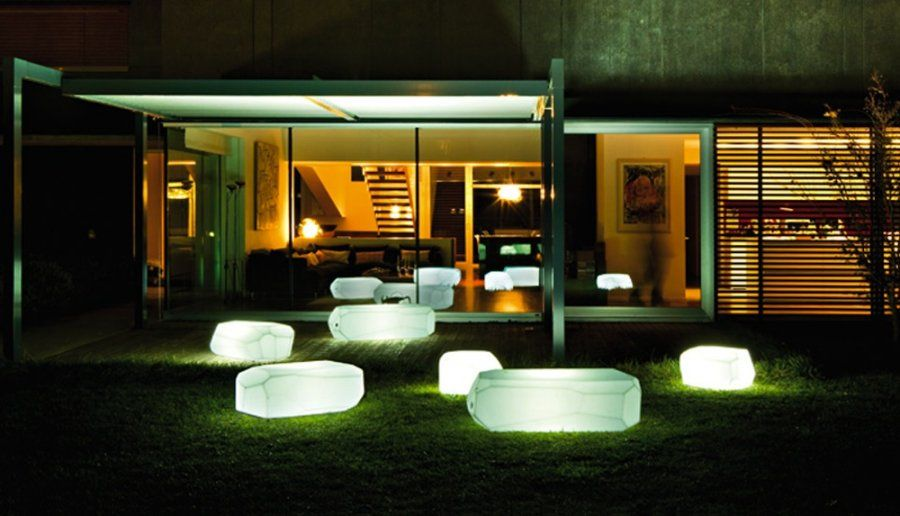 Genial Glowing Outdoor Furniture   Ditch The Tiki Torches This Summer In Favor Of  Lighting That Also Gives Your Summer Guests A Place To Sit.
