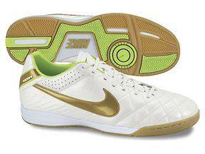27715b0d2 Nike Tiempo Mystic IV IC Mens Soccer Cleats White/Gold/Volt | Stuff ...