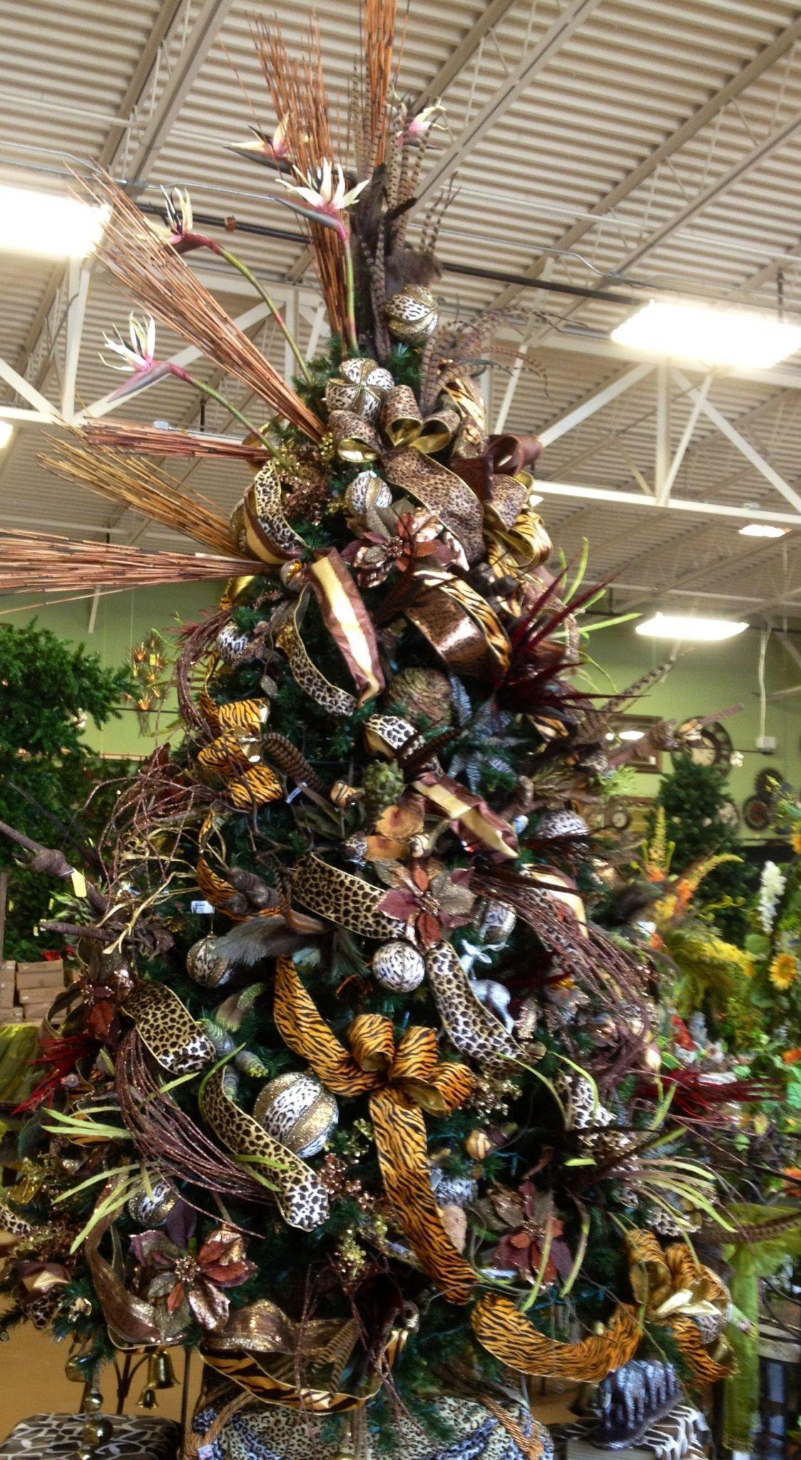 Safari Christmas Tree