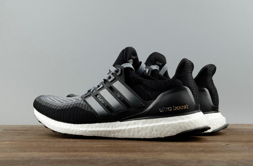 the latest 50395 2bc74 New Authentic Adidas Ultra Boost 2.0 Black Grey AQ400 Real ...