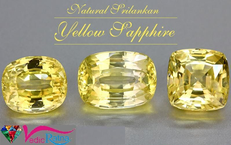 Yellow Sapphire Is Very Expensive And Popular In Many People Get Information About Pukhraj Yellow Sapphire Stones Prices Yellow Sapphire Gemstones Sapphire