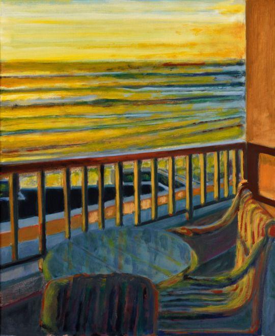 Norbert Tadeusz (German, 1940-2011), Agadir II, 1994-95. Oil on canvas, 97 x 80 cm.